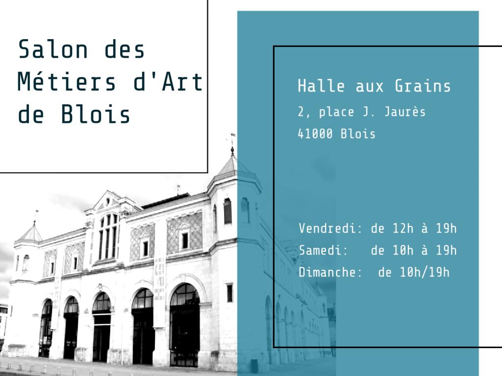 Salon des Métiers d'Art de Blois 2020