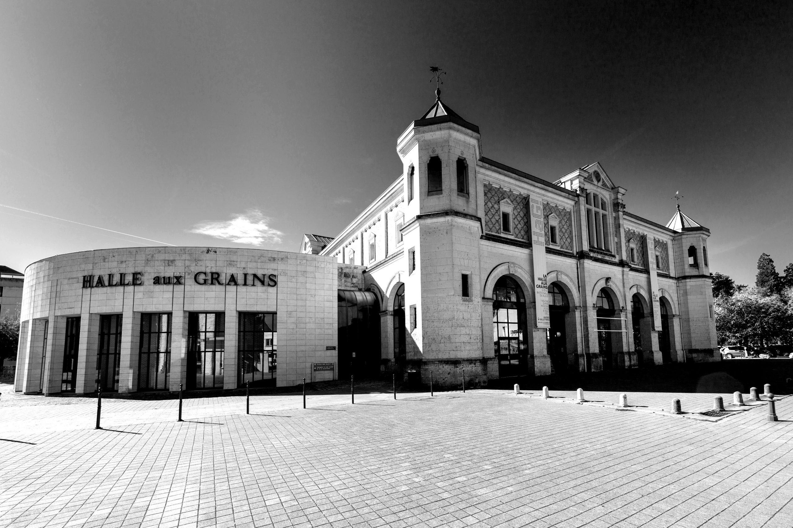 Halle aux Grains -Noir et Blanc2