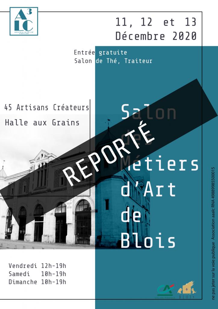 Salon des Métiers d'Art de Blois reporté aux 23,24 et 25 avril 2021