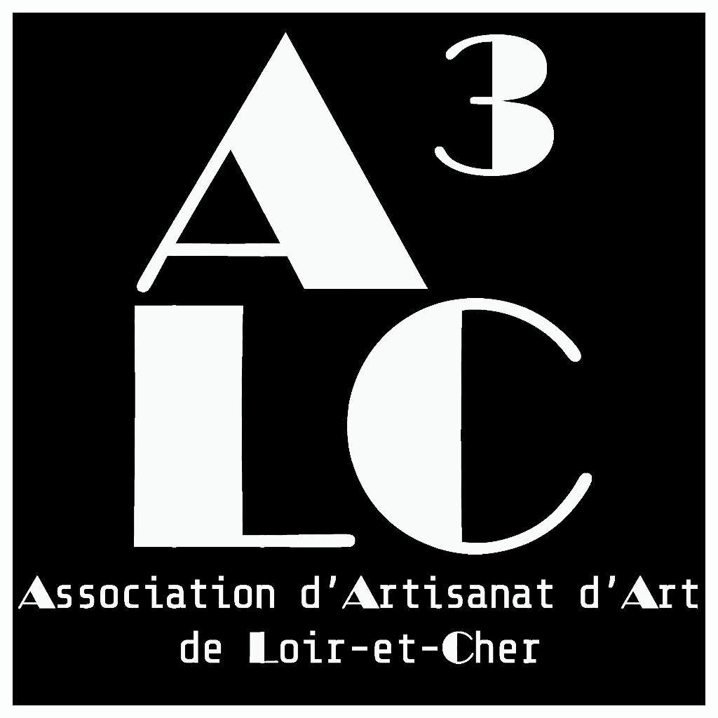 Logo de l'Association d'Artisanat d'Art de Loir-et-Cher, version blanche