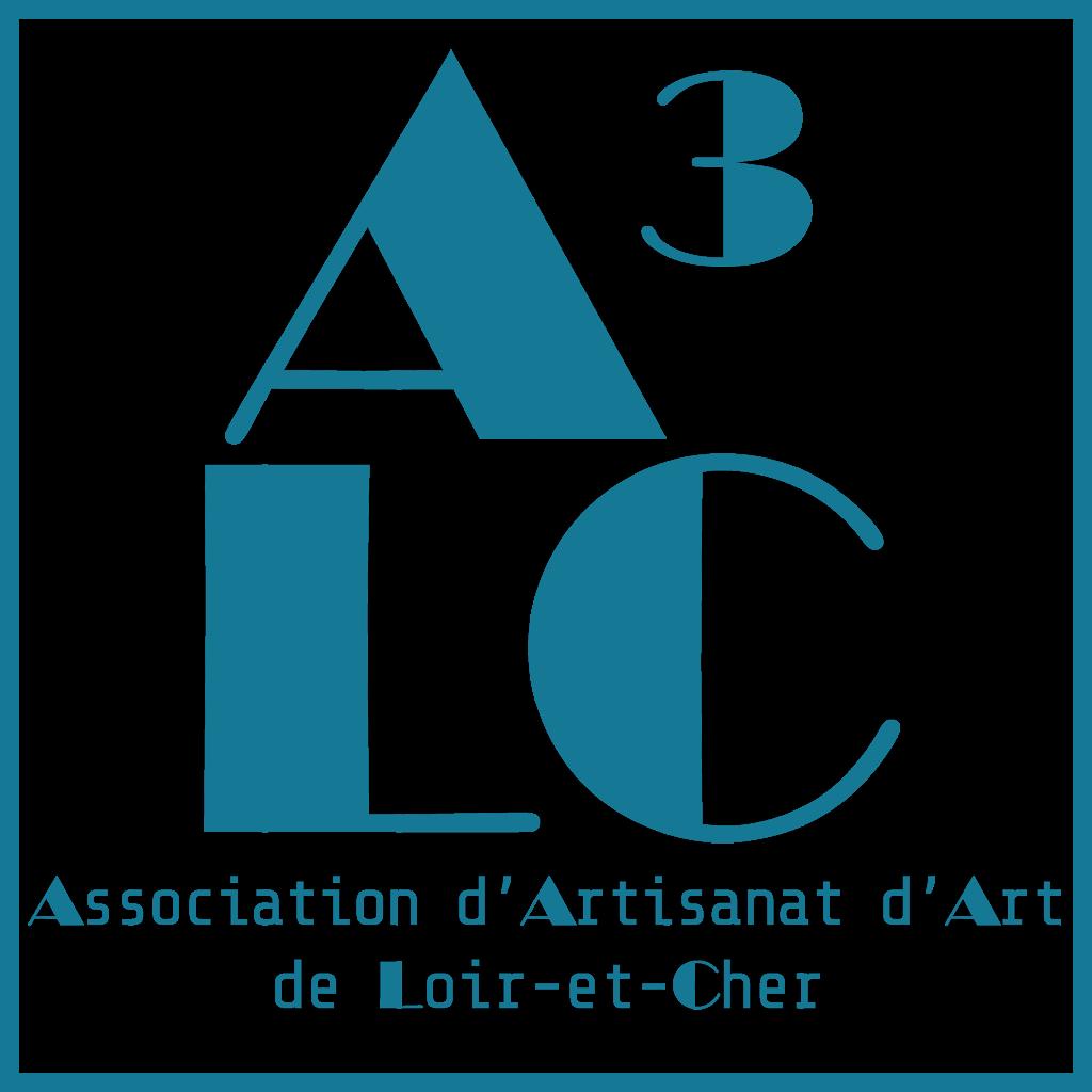 Logo de l'Association d'Artisanat d'Art de Loir-et-Cher, version bleue